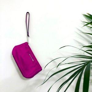 EUC Michael Kors Pinkish/Purple Wristlet Wallet